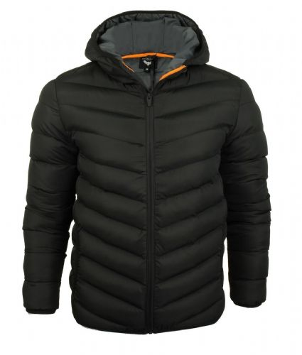 Fargo quality Hooded Puffer Jacket Black Jacket